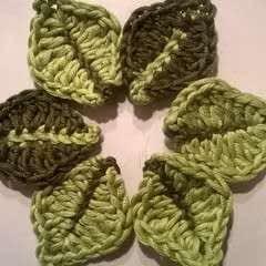 A Yarny Little Leaf