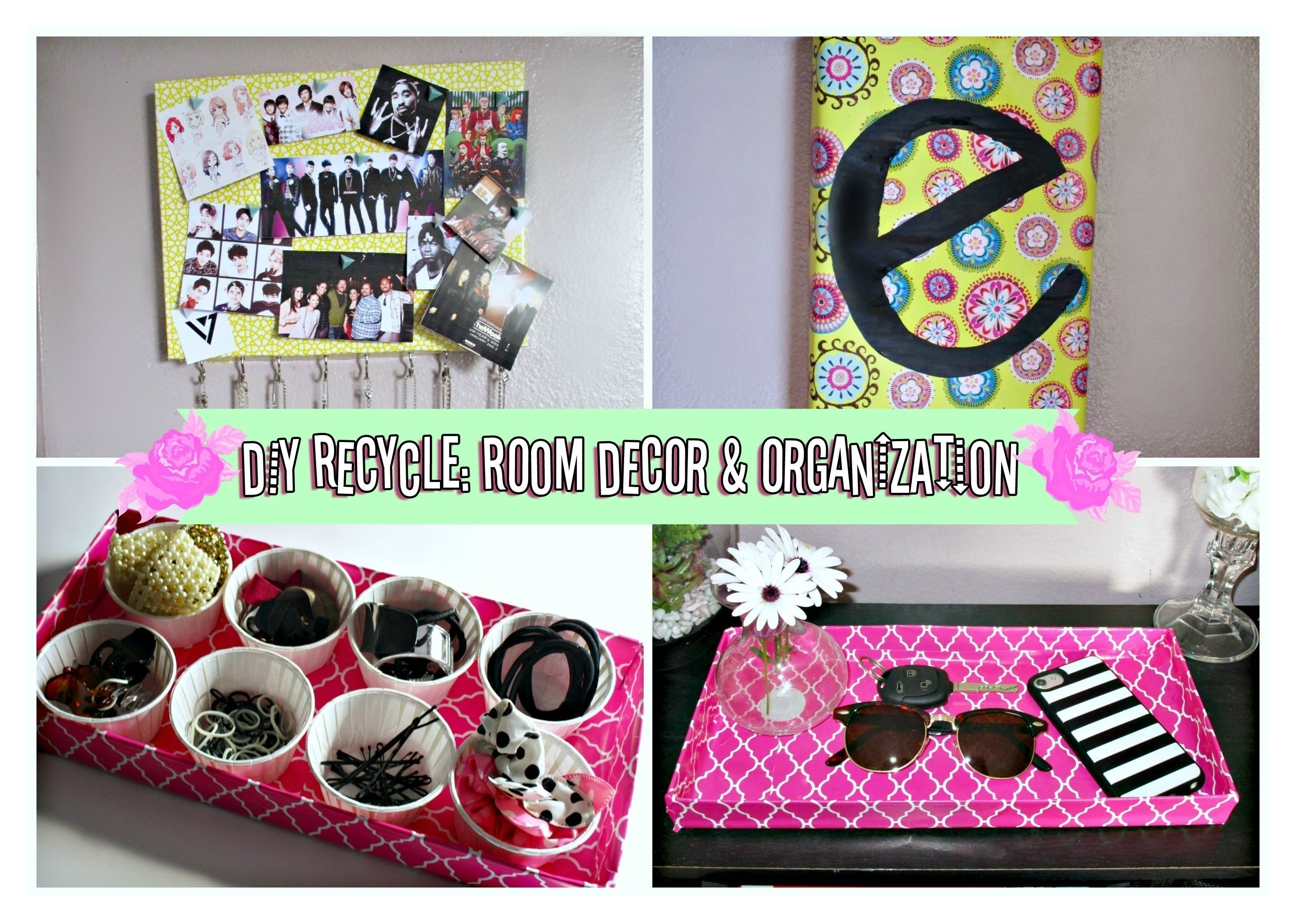 Diy Room Decor Organization Ideas For Spring Recycling
