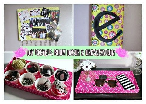 Four projects using shoe box lids! .  Free tutorial with pictures on how to make a decoration in under 90 minutes using shoe box. Inspired by rooms in the house. How To posted by Alternativelychiic.  in the Decorating section Difficulty: Simple. Cost: Cheap. Steps: 1