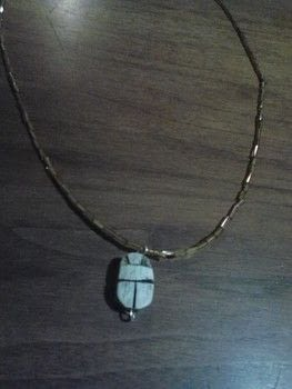Ancient! .  Make a pendant necklace in under 15 minutes using pendants, beads, and wire. Creation posted by Ashley P.  in the Jewelry section Difficulty: Easy. Cost: Absolutley free.
