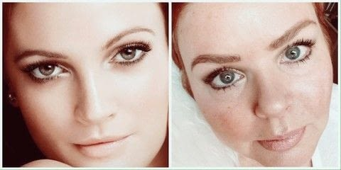 Drew Barrymore .  Free tutorial with pictures on how to create a natural eye makeup in under 30 minutes by applying makeup with pressed powder, highlighter, and lipliner. Inspired by drew barrymore. How To posted by StyledLady4Ever .  in the Beauty section Difficulty: Easy. Cost: 3/5. Steps: 12