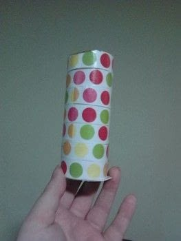 Colorful and useful! .  Recycle a pencil box in under 10 minutes using toilet paper tube, paper, and glue. Creation posted by Ashley P.  in the Other section Difficulty: Easy. Cost: No cost.