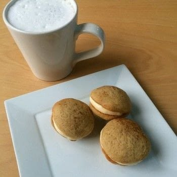 Bake some White Chocolate Chai Whoopie Pies with Higher Ground in Calgary, Alberta. .  Free tutorial with pictures on how to bake a whoopie pie in under 45 minutes by cooking and baking with all purpose flour, baking soda, and spices. Recipe posted by A Bite To Eat.  in the Recipes section Difficulty: Simple. Cost: Cheap. Steps: 8