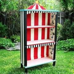 Alice In Wonderland Bookshelf