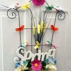 """Spring Garden """"Wreath"""""""