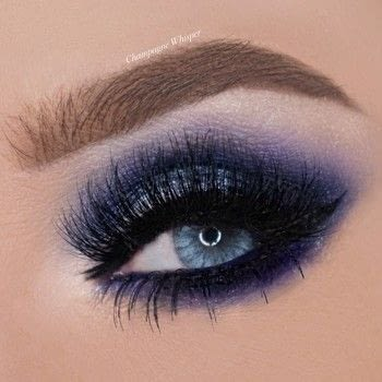 Stand out from all the other Smokey eyes! .  Free tutorial with pictures on how to create a smokey eye in under 25 minutes by applying makeup with eyeshadows, eyeliner, and false eyelashes. How To posted by Champagne Whisper.  in the Beauty section Difficulty: 3/5. Cost: 3/5. Steps: 8