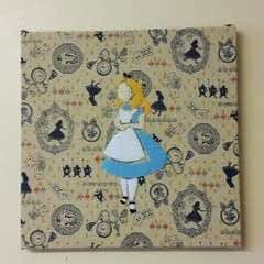 Alice In Wonderland Themed Felt Art Work