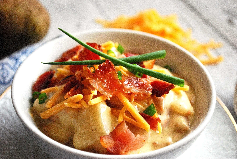 Perfect Potato Soup · How To Cook A Potato Soup · Recipes ...