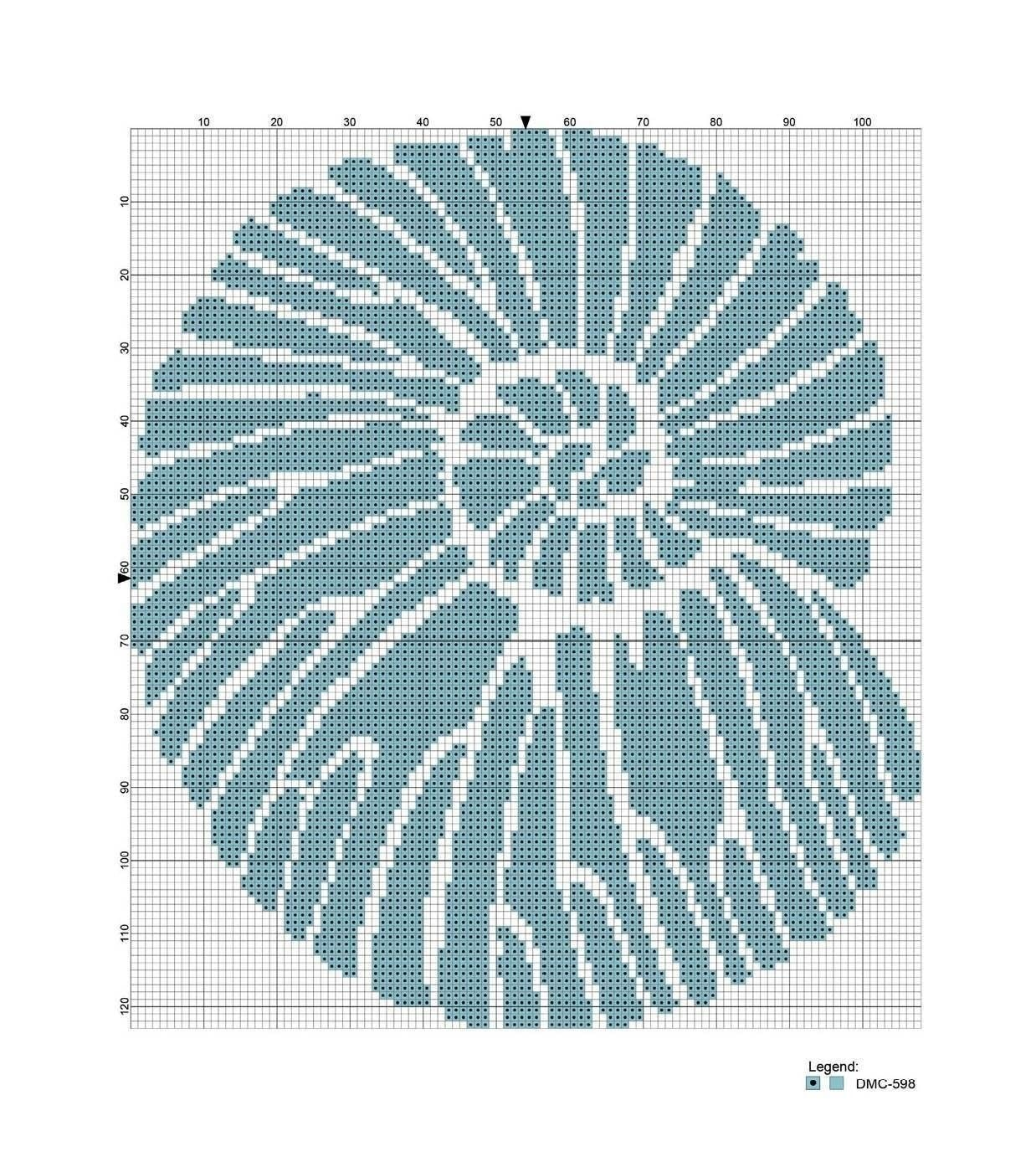 Fossil Cross Stitch 183 Extract From Cross Stitch To Calm By