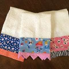 Decorated Hand Towel