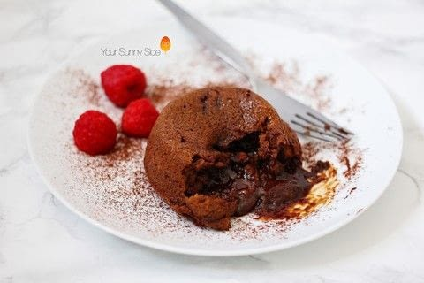 The chocolate fondant is indulgent, screams decadence, and is not at all good for you. .  Free tutorial with pictures on how to make a chocolate pudding in under 27 minutes using dark chocolate, light soft brown sugar, and eggs. Recipe posted by Nazia A.  in the Recipes section Difficulty: Simple. Cost: Absolutley free. Steps: 4