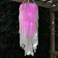 Light Up Boho Chandelier