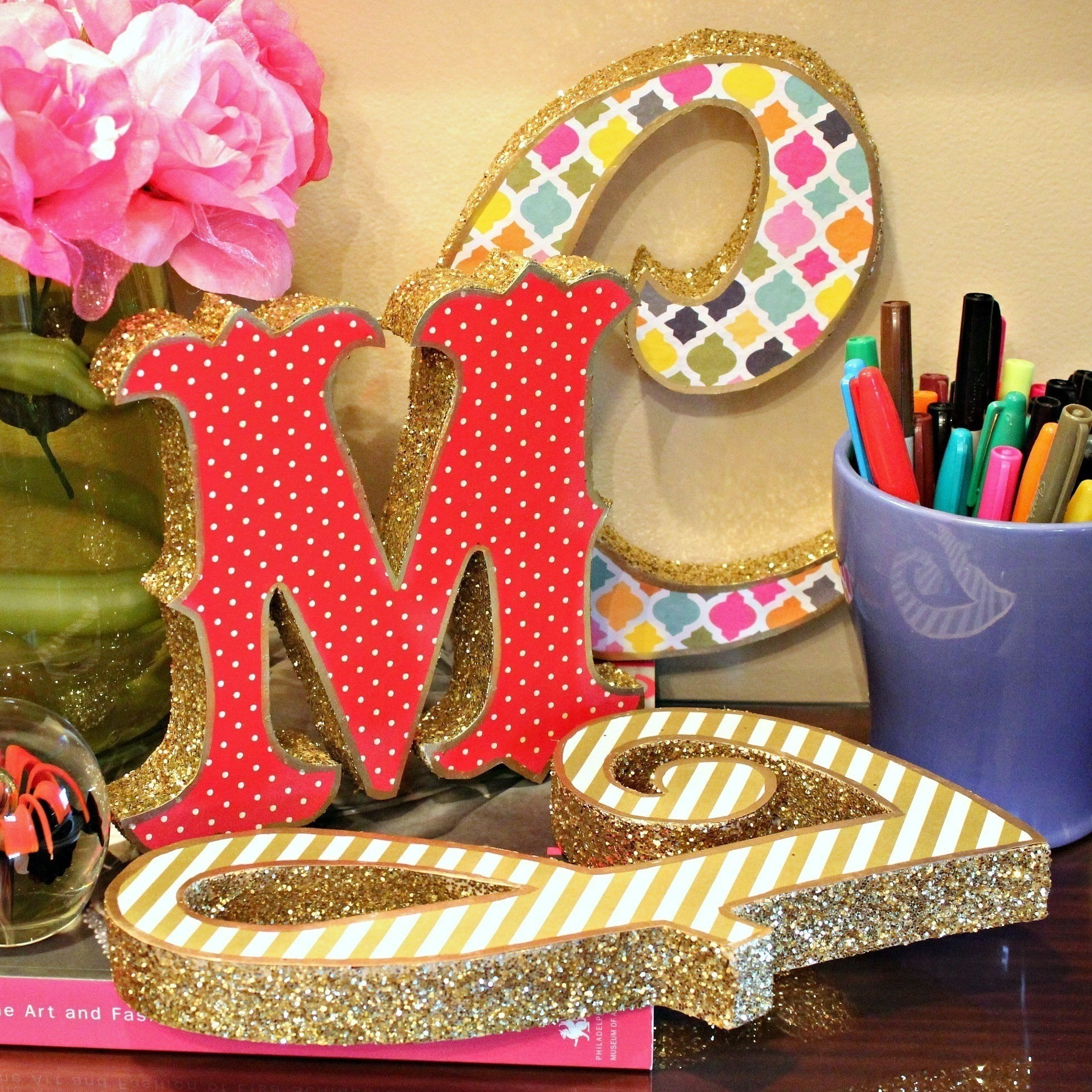 Trash To Treasure Marquee Letters · How To Make A Letter