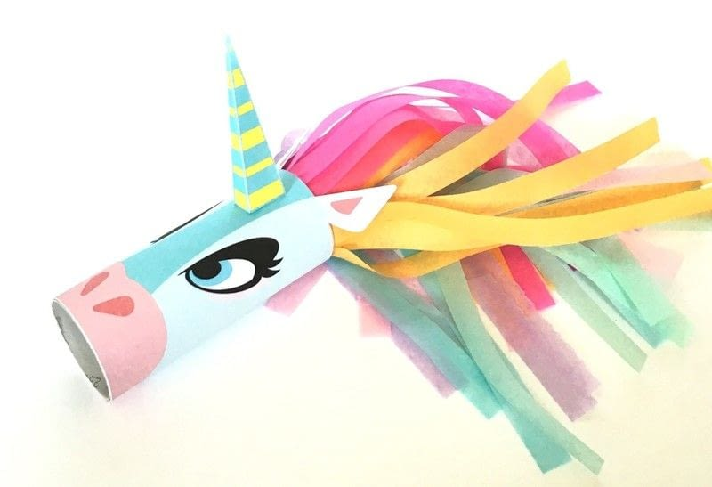 unicorn toilet paper roll craft unicorn toilet craft printable 183 how to make a 7274