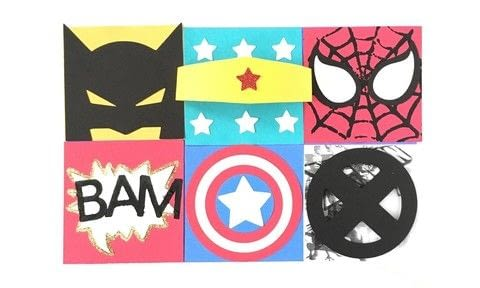 Superhero Collage Project .  Free tutorial with pictures on how to make a collages in under 30 minutes using glue, cardstock, and stampers. Inspired by super hero. How To posted by John L.  in the Papercraft section Difficulty: Simple. Cost: No cost. Steps: 4