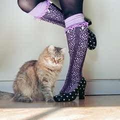 Charm Cuff Socks