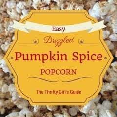 How To Make Drizzled Pumpkin Spice Popcorn