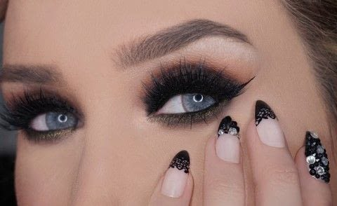 Smokey eye using MAC products .  Free tutorial with pictures on how to create a smokey eye in under 60 minutes by applying makeup with eyeshadows, eyeliner, and mascara. How To posted by Champagne Whisper.  in the Beauty section Difficulty: 3/5. Cost: No cost. Steps: 1