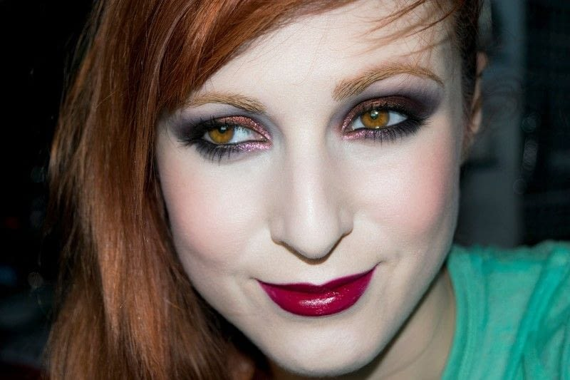 Shirley Manson The Makeover 183 How To Create A Red Eye
