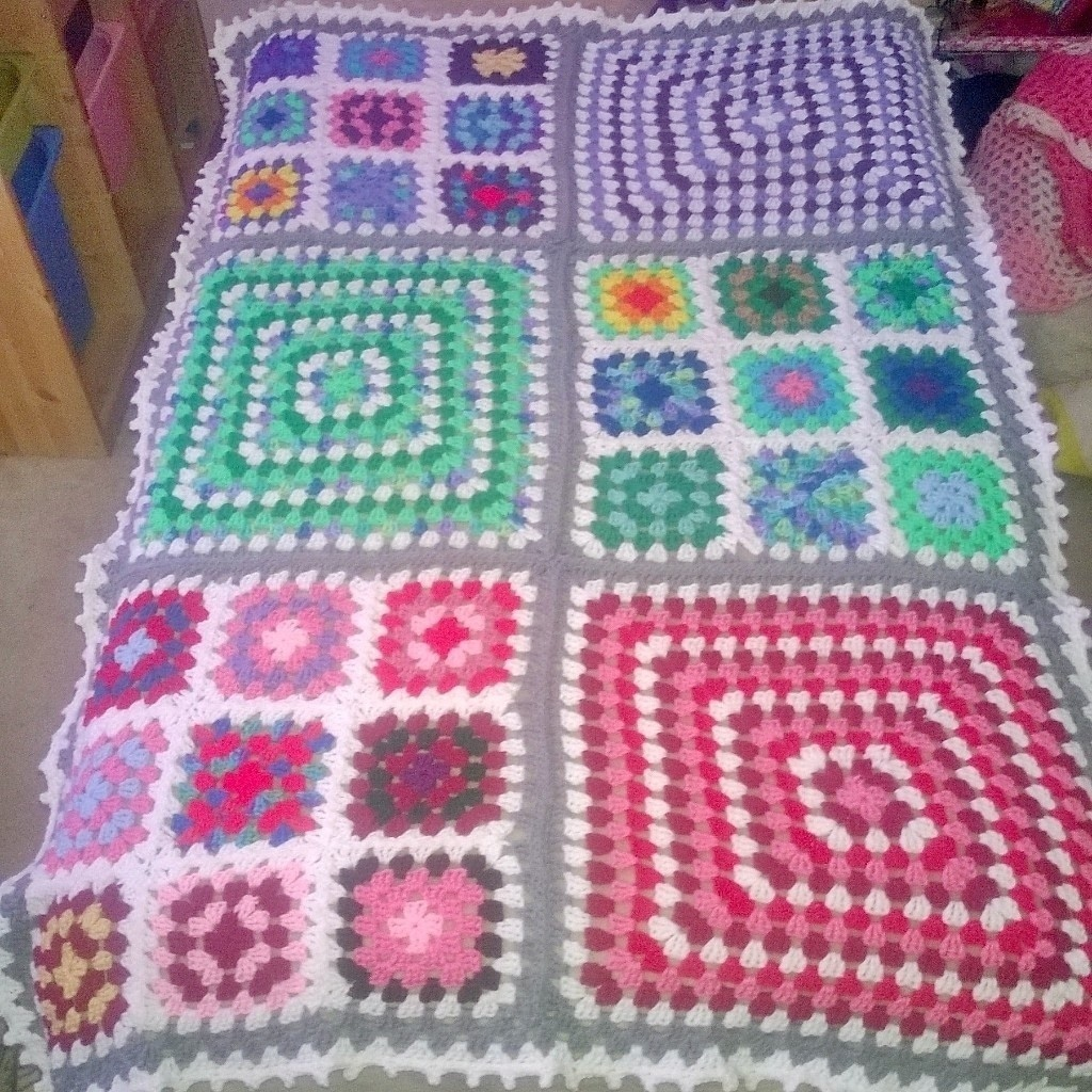 Granny Square Blanket 183 A Granny Square Blanket