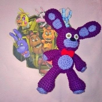 Five Nights at Freddy's Bonnie and Foxy .  Sew a computer game plushie in under 180 minutes using yarn, hook, and polyfill. Creation posted by Carol S.  in the Yarncraft section Difficulty: Easy. Cost: Cheap.