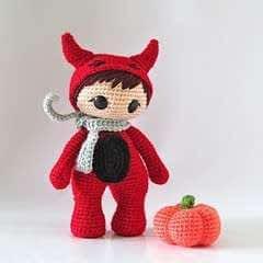 efbf30c2802 Little Red Riding Hood S Crochet Hood For Class Play · A Hat ...