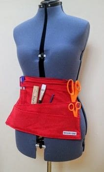 Sew your own version of Crafterella's toolbelt with pockets for all your handy tools!  .  Free tutorial with pictures on how to make a toolbelt in under 180 minutes by sewing with fabric, sewing machine, and pins. Inspired by cut out + keep and crafterella. How To posted by Cat Morley.  in the Sewing section Difficulty: Simple. Cost: Cheap. Steps: 22