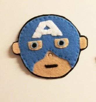 Team Captain America or Team Iron Man? .  Free tutorial with pictures on how to sew a movie plushie in under 60 minutes by sewing and hand sewing with felt, felt, and felt. Inspired by cartoons, iron man, and super hero. How To posted by Caz.  in the Sewing section Difficulty: Easy. Cost: Cheap. Steps: 10