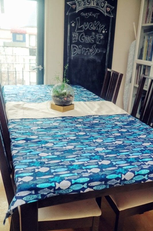Nautical Fish Tablecloth 183 How To Make A Tablecloth