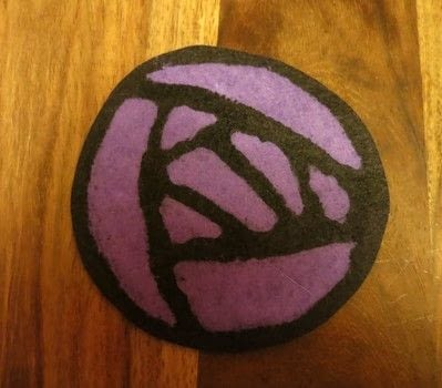 Charles Rennie Mackintosh inspired coasters .  Free tutorial with pictures on how to sew a fabric coaster in under 120 minutes by melting and not sewing with felt, wax, and melting pot. Inspired by scottish. How To posted by Gemma T.  in the Other section Difficulty: Easy. Cost: Cheap. Steps: 8