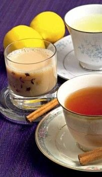 The Arabian Nights Cookbook .  Free tutorial with pictures on how to mix a chai latte in under 10 minutes by mixing drinks with water, black tea, and cinnamon stick. Recipe posted by Tuttle Publishing.  in the Recipes section Difficulty: Simple. Cost: Cheap. Steps: 2