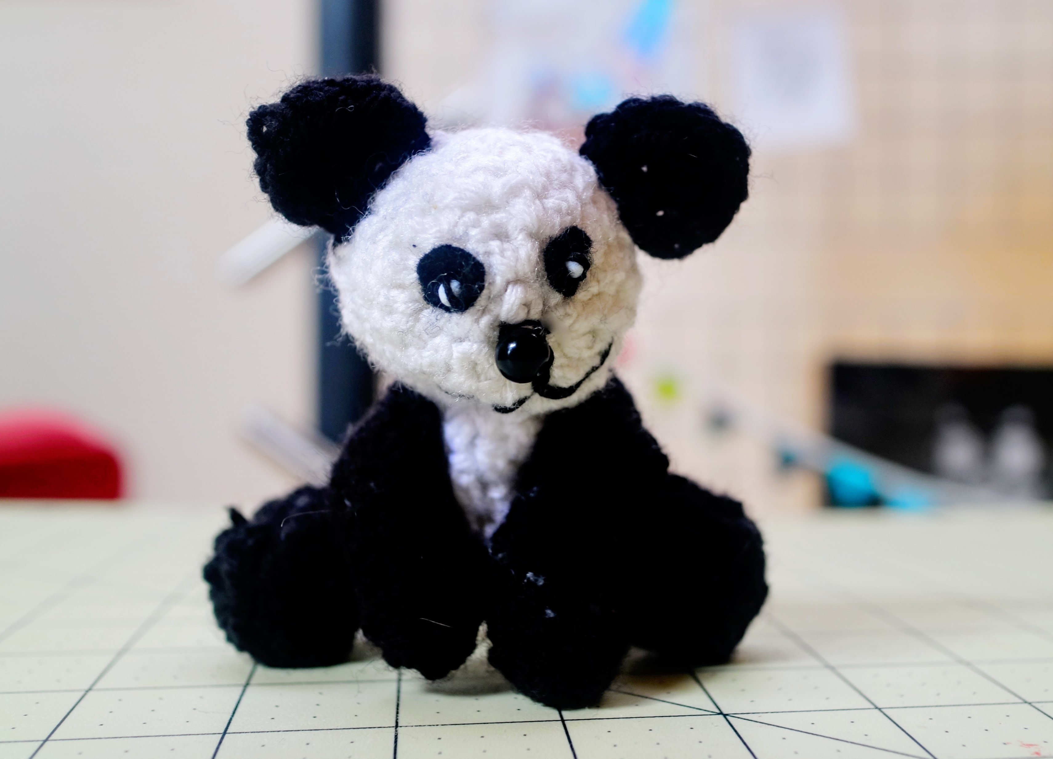 Momo the Panda Bear Amigurumi crochet pattern PDF | 2467x3420