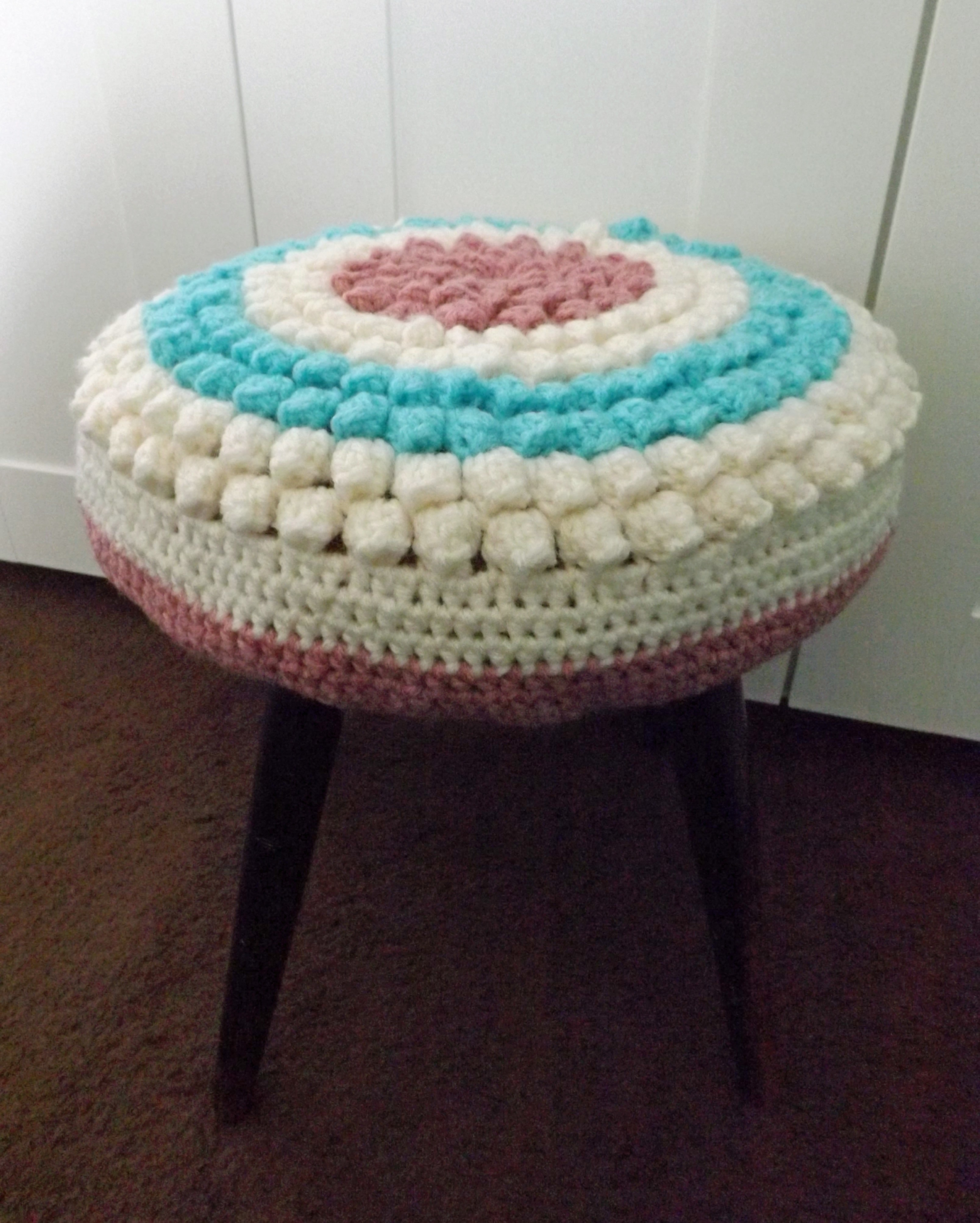 Bobble Stool Cover · A Seat Pad · Yarncraft on Cut Out + Keep ...