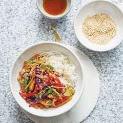Teriyaki Vegetable & Rice Bowl