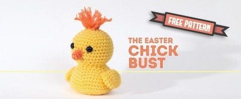 The Easter Chick Bust is another pattern in my Easter Bust Collection. It's an easy pattern to make. Enjoy! .  Free tutorial with pictures on how to make a chick plushie in under 180 minutes by crocheting with safety eyes, stuffing, and yarn. Inspired by chicken and easter. How To posted by Dendennis.  in the Yarncraft section Difficulty: Simple. Cost: Cheap. Steps: 1