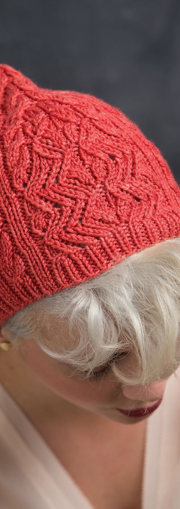 Billie Hat 183 Extract From Refined Knits By Jennifer Wood