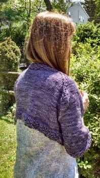 Free Shrugs ~-(ouo)-~ .  Free tutorial with pictures on how to make a cardigan in 7 steps by knitting with knitting needles, scissors, and crochet hook. How To posted by Violette Lovelace.  in the Yarncraft section Difficulty: 3/5. Cost: 4/5.