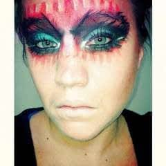 Devilish Masquerade Inspired Make Up