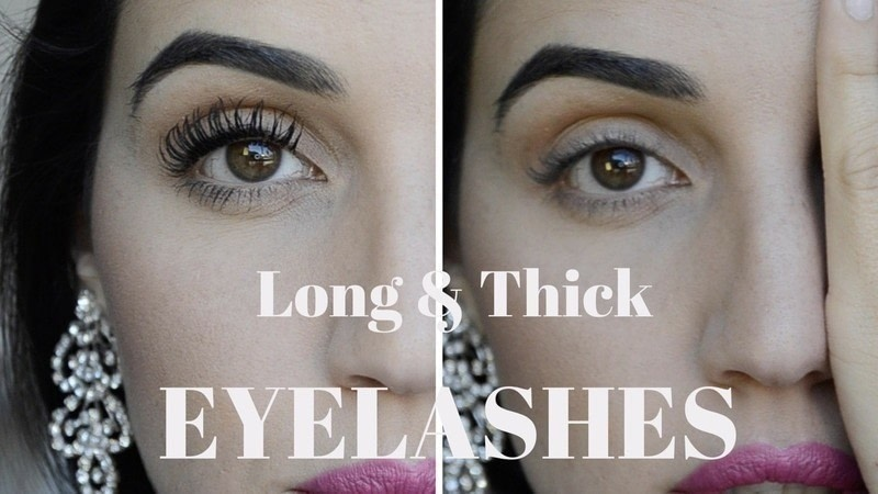 How To Make Your Eyelashes Look Long Thick How To Makeover Your