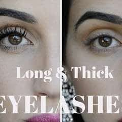 How To Make Your Eyelashes Look Long & Thick