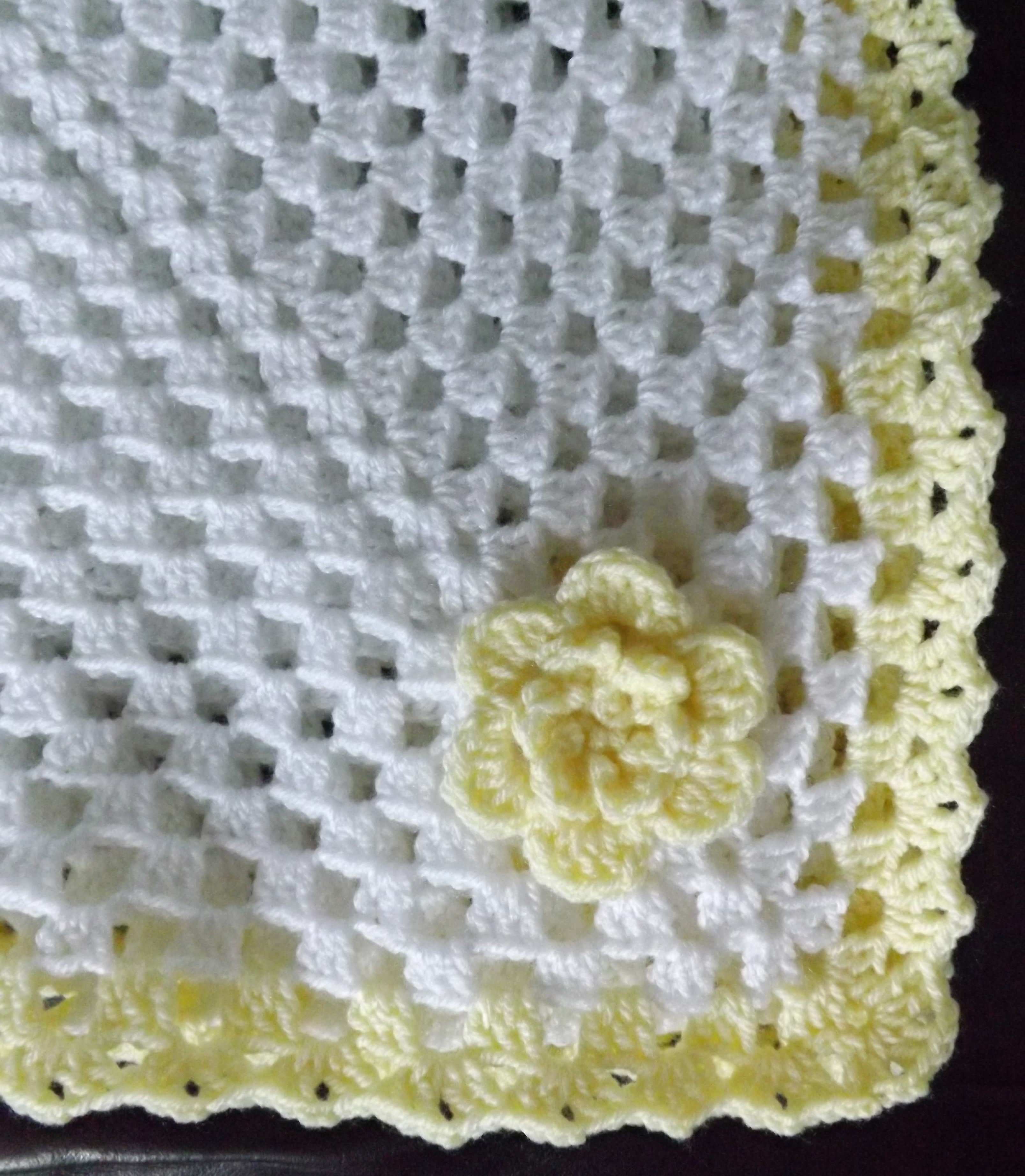 Granny Square Baby Blanket · A Granny Square Blanket · Yarncraft on ...
