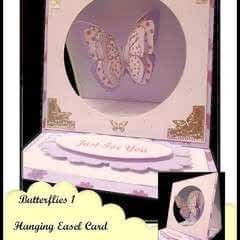 Butterfly Hanging Easel Card