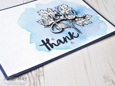 Watercolouring and Die Cutting made easy .  Free tutorial with pictures on how to paint a watercolor card in under 30 minutes by papercrafting and stamping with watercolour, card, and ink. How To posted by Bedlam & Butterflies.  in the Papercraft section Difficulty: 3/5. Cost: 3/5. Steps: 7
