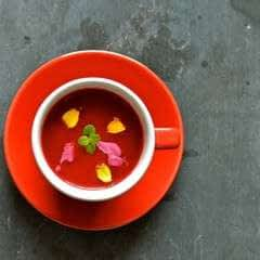Not Quite Beetroot Soup