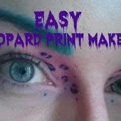 Easy Leopard Print Makeup