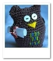 A cute owl to sit on your desk and cheer you up .  Free tutorial with pictures on how to make a bird plushie in under 180 minutes by embroidering and crocheting with cotton yarn, polyester stuffing, and hook. Inspired by owls. How To posted by Emma V.  in the Yarncraft section Difficulty: Simple. Cost: No cost. Steps: 1