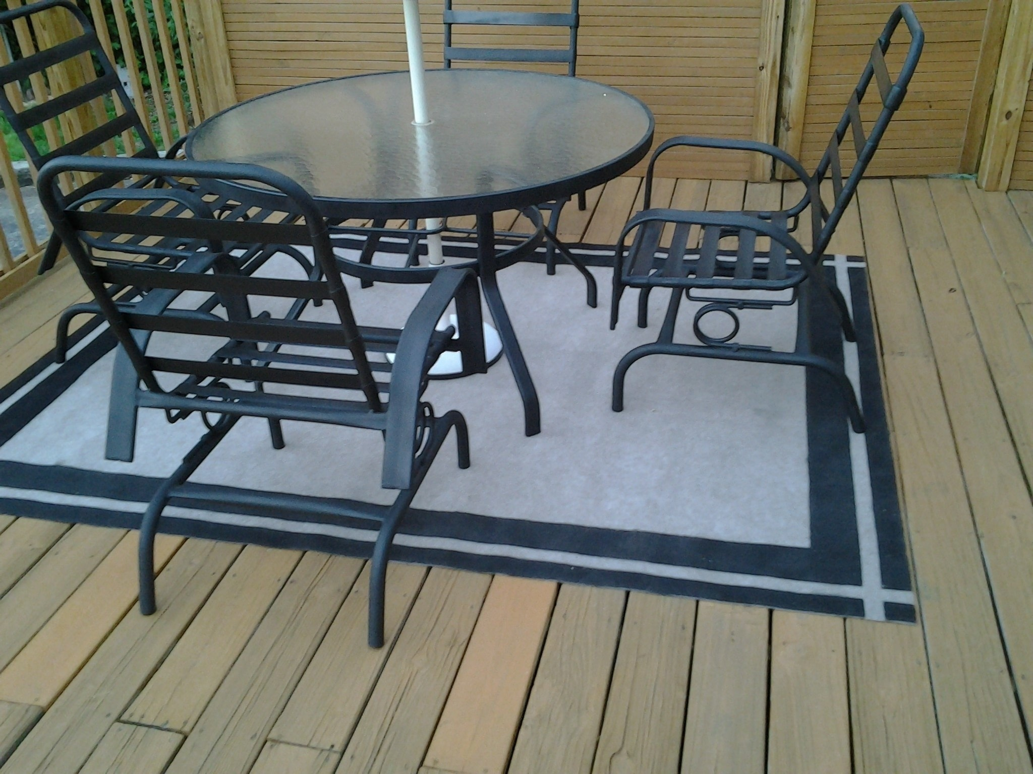 Painted Patio Rug 183 How To Make A Mat Rug 183 Home Diy On