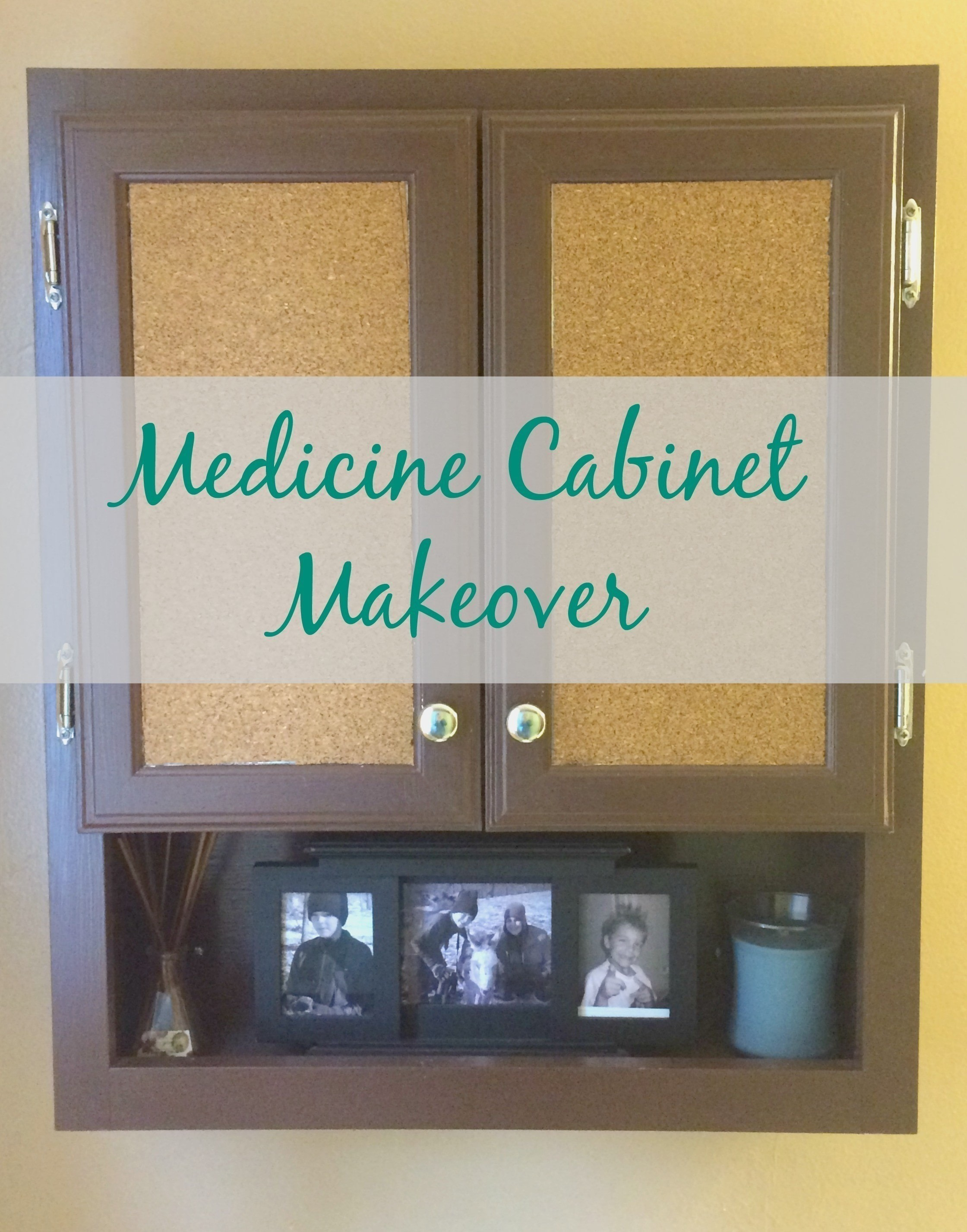 Medicine Cabinet Makeover 183 How To Make A Cupboard