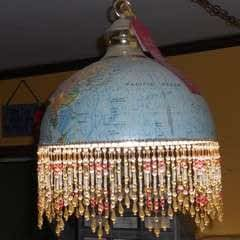 Globe Hanging Lamp Or Lampshade