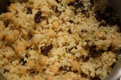 Quick, easy and tasty - vegetarian but meat eaters will ove it too!  .  Free tutorial with pictures on how to cook a couscous salad in under 40 minutes by cooking with halloumi, cous cous, and oil. Inspired by vegetarian. Recipe posted by Jane W.  in the Recipes section Difficulty: Easy. Cost: 3/5. Steps: 7